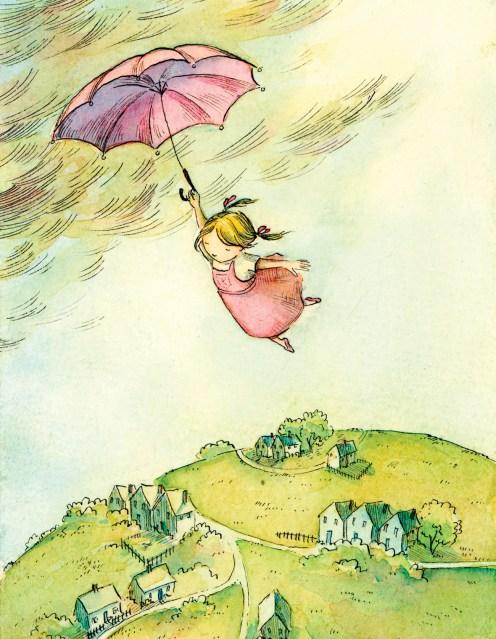 1 Flying girl