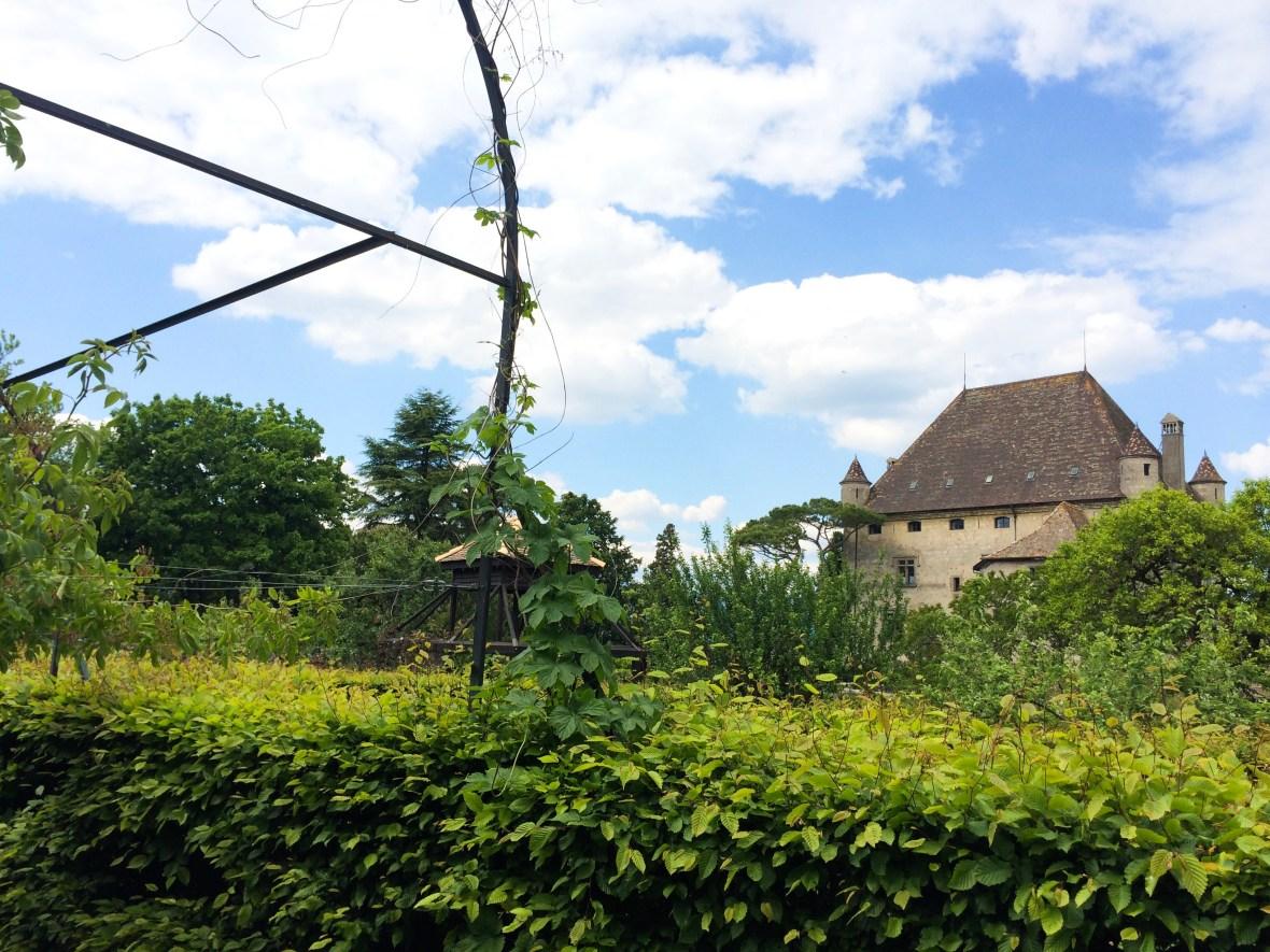 Yvoire Castle Garden Senses France