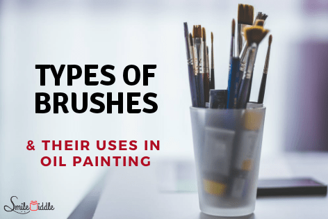 Types-of-brushes-oil-painting-SmileMiddle
