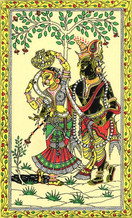 Patachitra Paintings Style