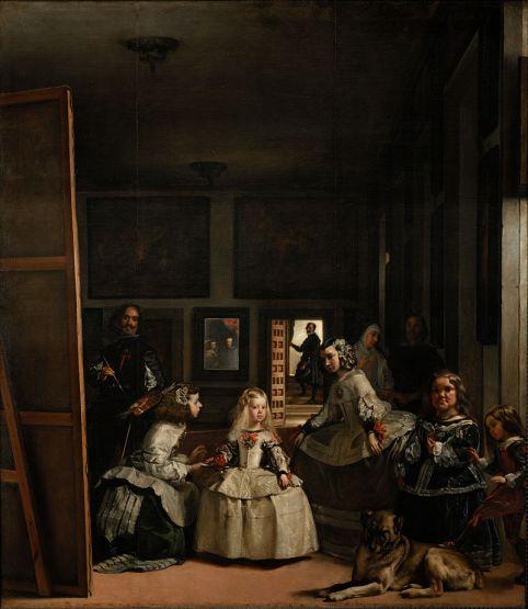 Las Meninas The famous painting