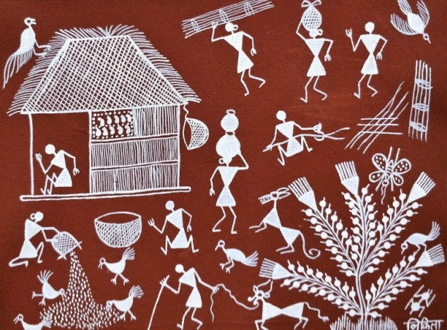 Warli Painting Style