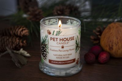 Fresh Scent Christmas Pet Candles