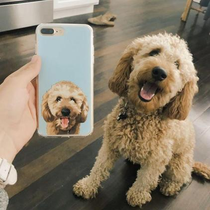 Customized Dog Picture Phone Case