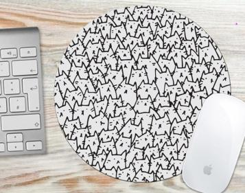 Mouse Pads as christmas gifts for cat lovers
