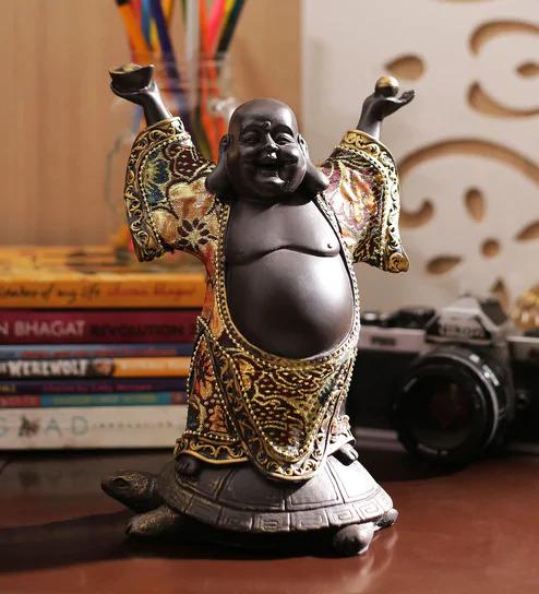 Laughing Buddha as housewarming gift