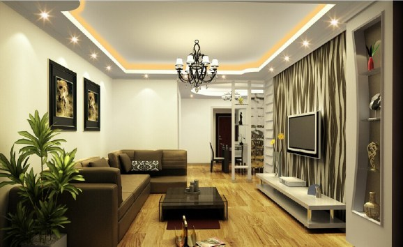 Classy Lighting for Living Room