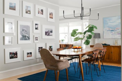Embellish the Walls with Memories (Dining Room Decoration)