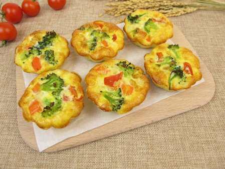 Miniature omelet