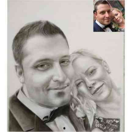 Couple Portrait as Gifts for Cancer Patients