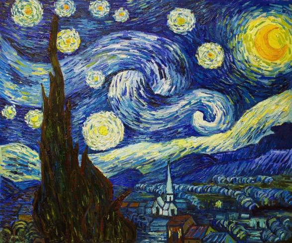 The Starry Night-Vincent Van Gogh