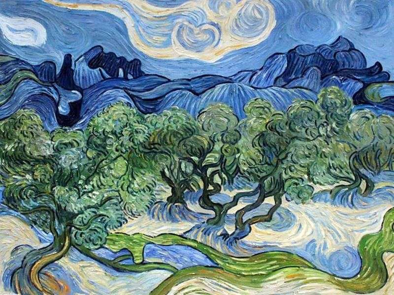 The Olive Trees- Vincent van Gogh