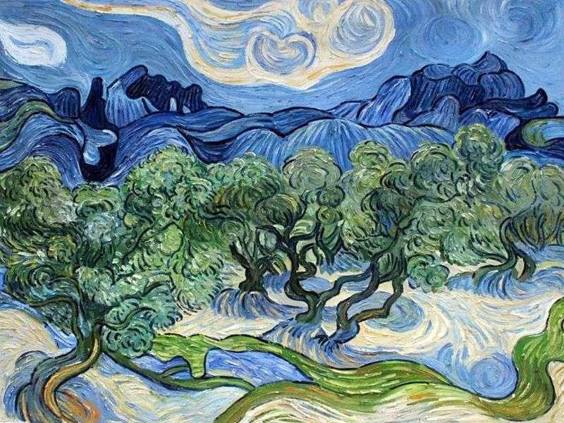 The Olive Trees- Vincent van Gogh