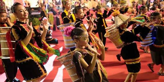 The Kadazan festival - Malaysia