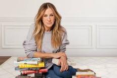 Sarah Jessica Parker reading books