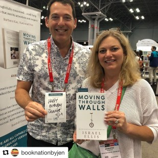 Book Nation by Jen with Israel Ellis, author of Moving Through Walls