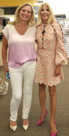 Jennifer Blankfein of Book Nation by Jen with Candace Bushnell author