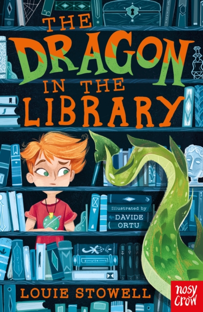 The Dragon in the Library – sneak peek and Q&A with Louie Stowell