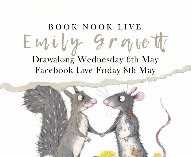 Emily Gravett with Book Nook Live