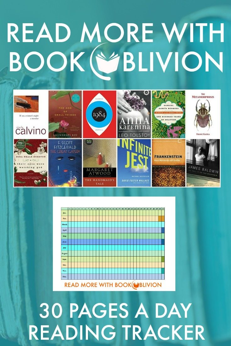 Read More With Book Oblivion