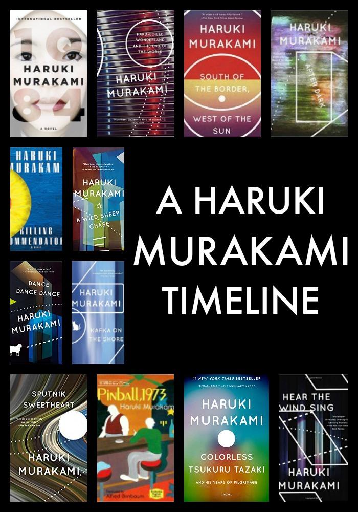 Haruki Murakami Novels in Chronological Order