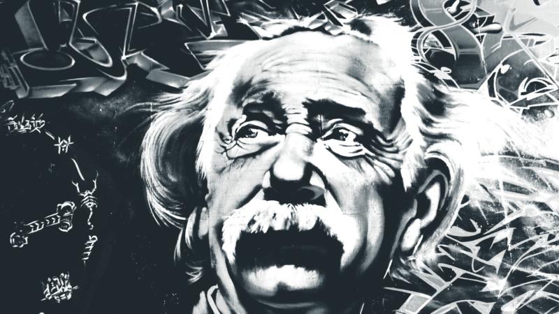 Albert Einstein and Henri Bergson debate space and time
