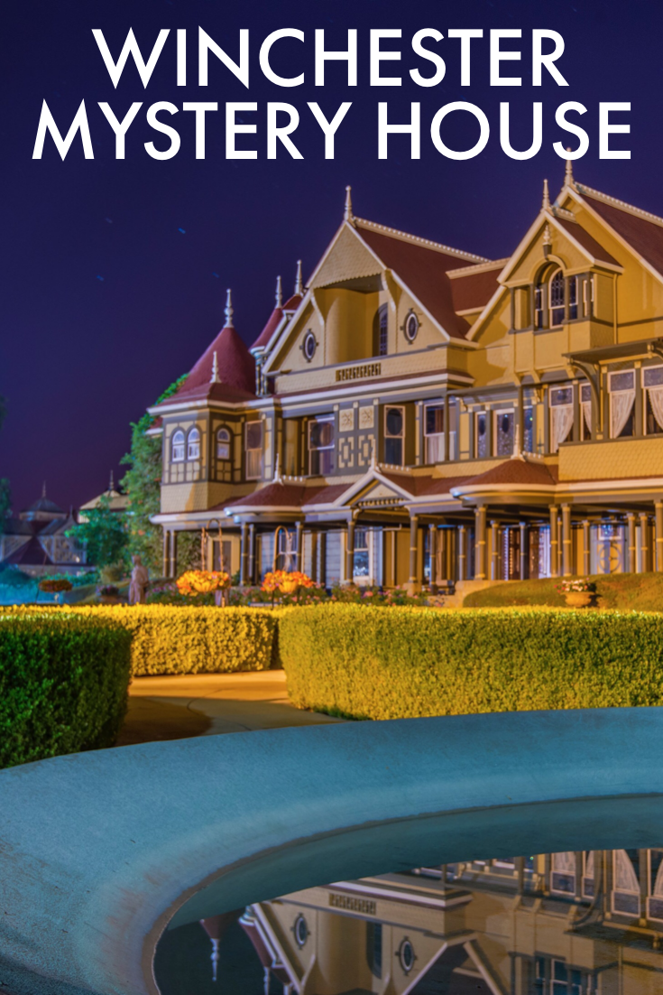 According to legend, the erratic architecture of the Winchester Mystery House was designed to confuse the spirits who haunted Sarah Winchester.