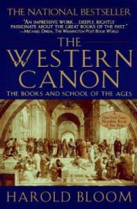 Harold Bloom The Western Canon