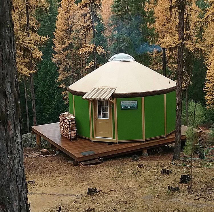 Wooden Yurt by Freedom Yurt Cabins – Book of Cabins