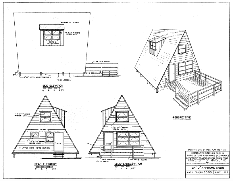 Free E Book Guaranteed Building Plans  House Plans  Free A Frame Plans Book Of Cabins