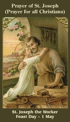 FEAST OF ST JOSEPH THE WORKER