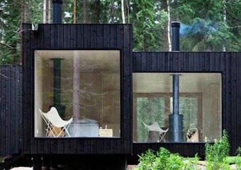 Four Cornered House, Virrat, Finland by Ville Hara