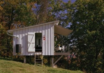 The Shack at Hinkle Farm, West Virginia by Architect Jeffery Broadhurst