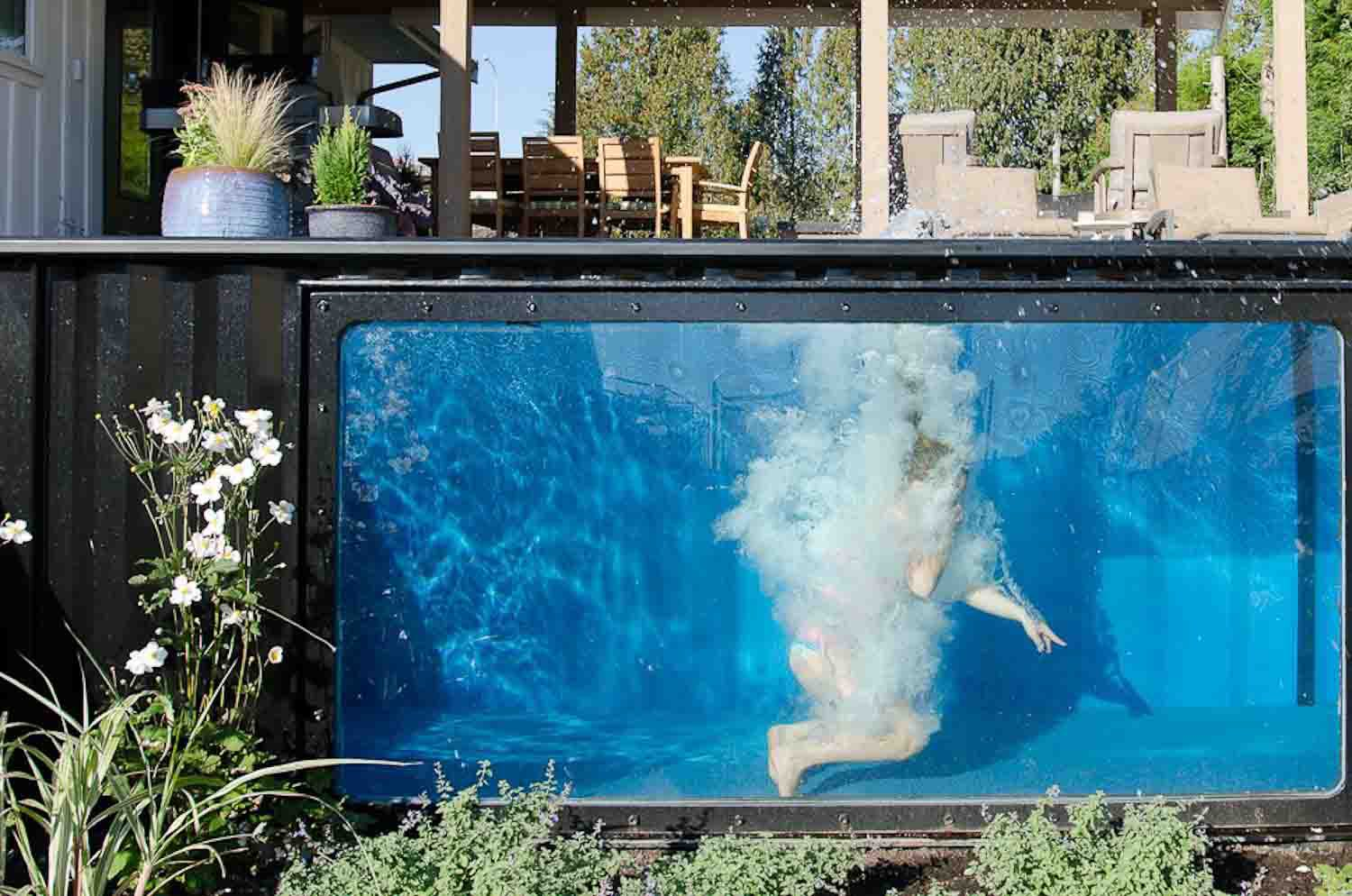 Shipping container pools by Modpools – Book of Homes