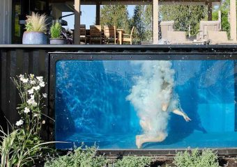 Shipping container pools by Modpools