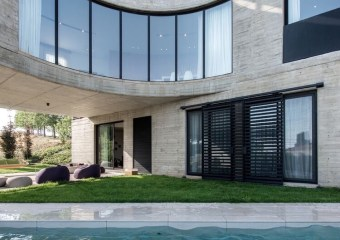 Out-to-Out House, Faqra, Lebanon by L.E.FT Architects