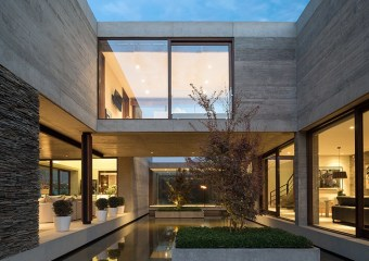 DIAZ House, Santiago, Chile by Estudio Valdés Arquitectos