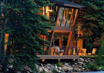 Feldman House, Woody Creek, Colorado by Feldman House David Johnston Architects