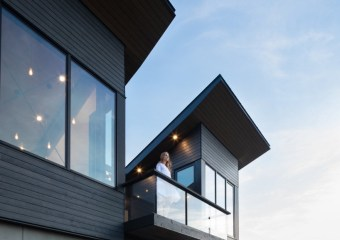 Treow Brycg House, Kingsburg, Nova Scotia, Canada by Omar Gandhi Architect