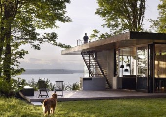 Case Inlet Retreat, Seattle by mw|works architecture + design