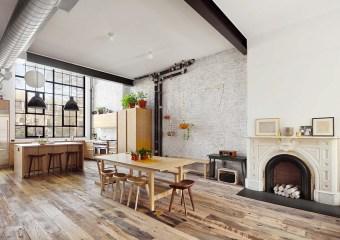 Clinton Hill Townhouse, Brooklyn, New York by Murdock Solon Architects