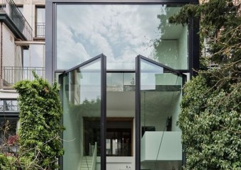 Town House in Antwerp, Belgium by Sculp[IT]