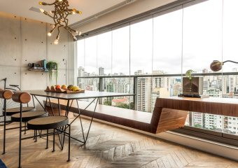Apartment RZ (50 sqm), Sao Paulo, Brazil by Rua 141 & architect Rafael Zalc
