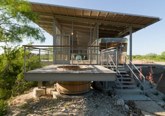 Locomotive Ranch Trailer, Austin, Texas by Andrew Hinman Architecture