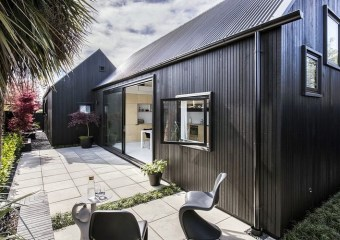 Urban Cottage (80.0 m2), Christchurch, New Zealand by CoLab Architecture