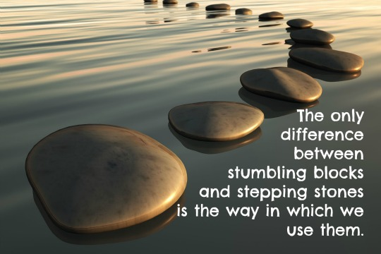 Image result for stepping stones quotes