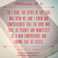 "#BOMSummer DAY 42, Alma 20-22: ""The Book Was True"""
