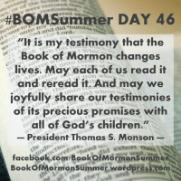 "#BOMSummer DAY 46, Alma 32-33: ""Read It and Reread It"""