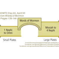 #BOMTC Day 24, April 30~Jarom-Words of Mormon or Pages 139-144: Plates, Prophets, and Prosperity