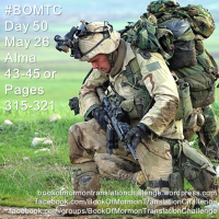 #BOMTC Day 50, May 26~Alma 43-45 or Pages 315-321: More Than War!